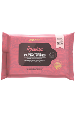 Rosehip Gentle Cleansing Facial Wipes