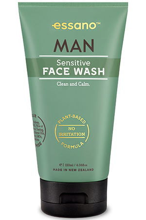 essano man sensitive face wash