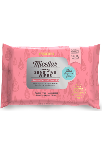 Micellar Soothing Sensitive Facial Wipes