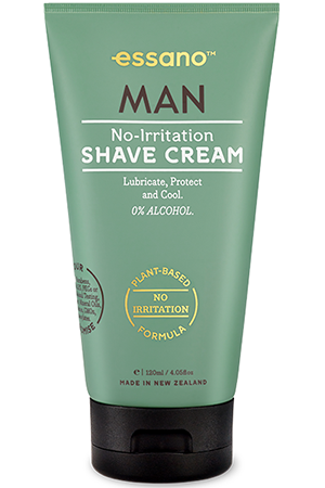 essano man no-irritation shave cream