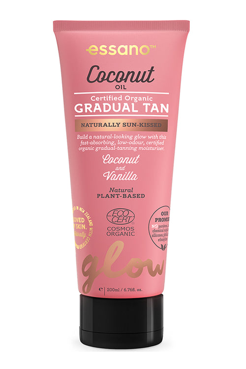 Certified Organic Coconut Oil Gradual Tan