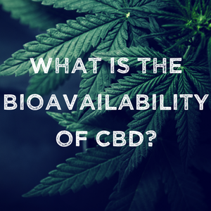 "CBD: ""Bioavailability?"""