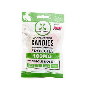Green Roads Froggies Gummies (100mg CBD)