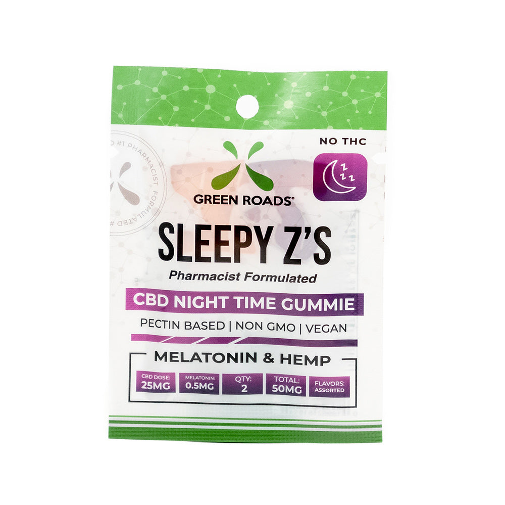 Green Roads World Sleepy Z's Gummies (50mg CBD)