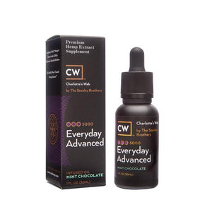 CBD 1 fl oz / Mint Chocolate/MCT Oil CW Botanicals Everyday Advanced (1500mg CBD) AceApe CBD Dispensary