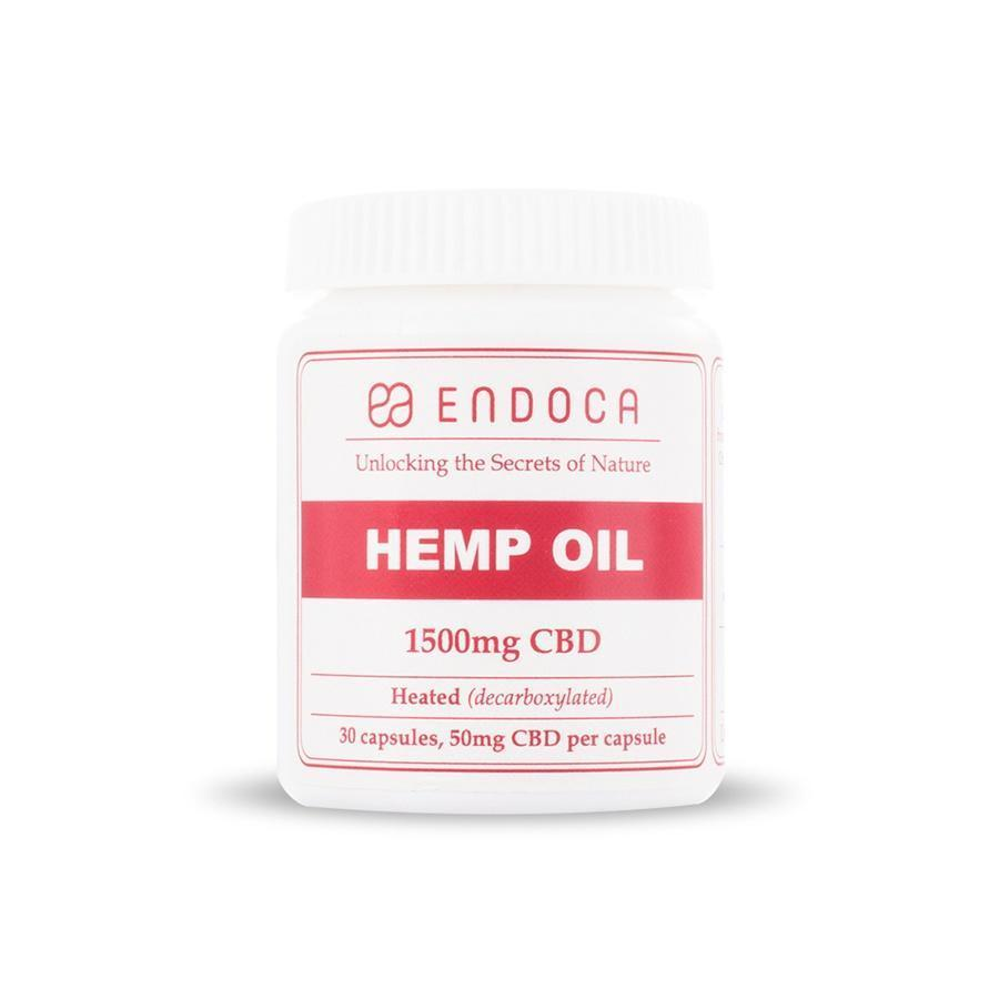 CBD 1500mg (50mg/ea) Endoca CBD Capsules, 30ct AceApe CBD Dispensary