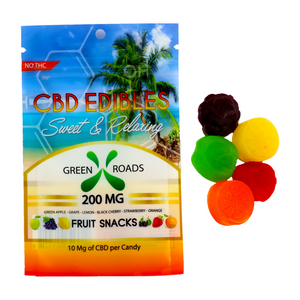 Green Roads World Fruit Bites (300 mg CBD)