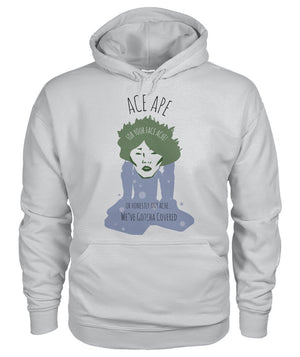Hoodies Ash Grey / S Face Ache Hoodie AceApe CBD Dispensary