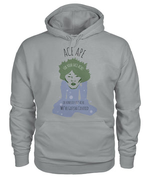 Hoodies Sport Grey / S Face Ache Hoodie AceApe CBD Dispensary