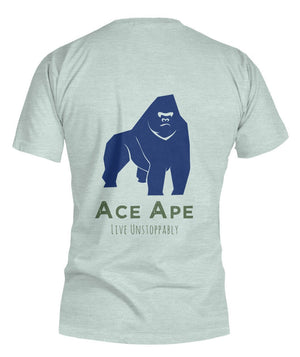 "Short Sleeves Define ""AceApe"" Unisex Tee (Semi-Fit) AceApe CBD Dispensary"
