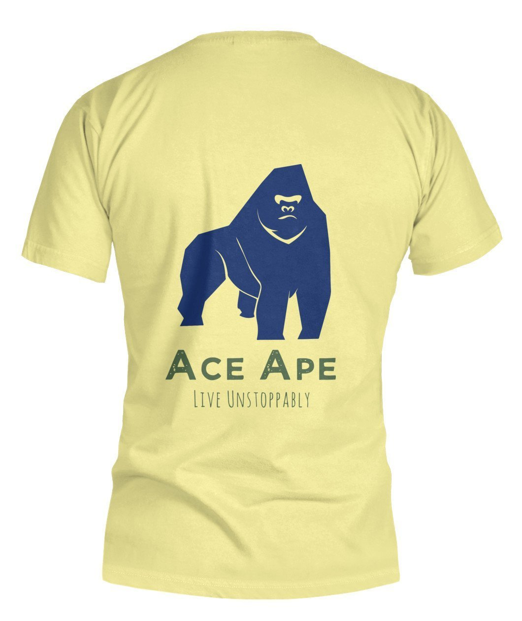 "Short Sleeves Define ""AceApe"" Bella Canvas Tee"