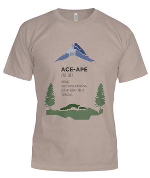 "Short Sleeves Pebble Brown / S Define ""AceApe"" Unisex Tee (Semi-Fit) AceApe CBD Dispensary"