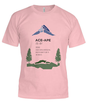 "Short Sleeves Soft Pink / S Define ""AceApe"" Unisex Tee (Semi-Fit) AceApe CBD Dispensary"