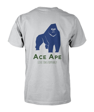 Short Sleeves Thumbs Up Unisex Cotton Tee AceApe CBD Dispensary