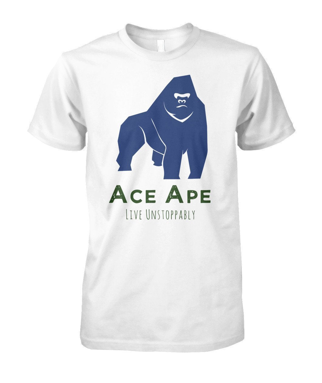 Short Sleeves White / S Stressed Out Unisex Cotton Tee AceApe CBD Dispensary
