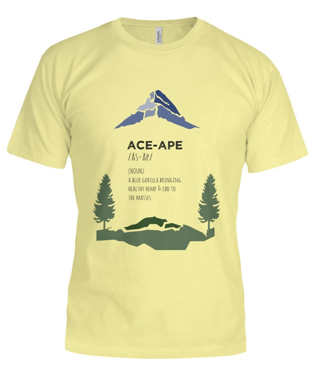 "Define ""AceApe"" Unisex Tee (Semi-Fit)"