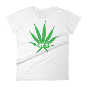 Cannabis Leaf Sativa T-shirt.