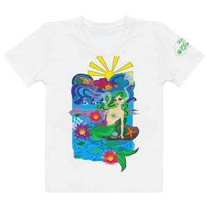 Mermaid Smoking bong - Women's T-shirt