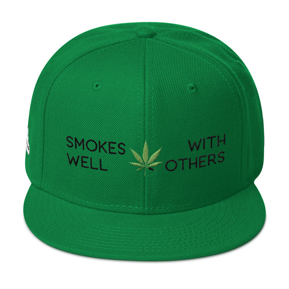 Smokes Well With Others - Snapback Hat