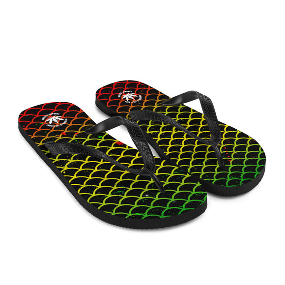 Rasta Mermaid - Flip-Flops