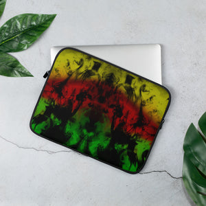 Rasta Smoke - Laptop Sleeve