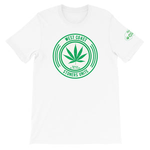 West Coast Stoner Unite - Short-Sleeve Unisex T-Shirt