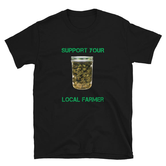 Support Local Farmers - Short-Sleeve Unisex T-Shirt
