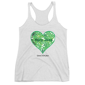 Mary Jane Heart Women's Racerback Tank