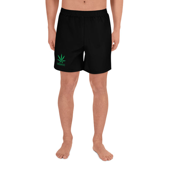Organic - Men's Athletic Long Shorts