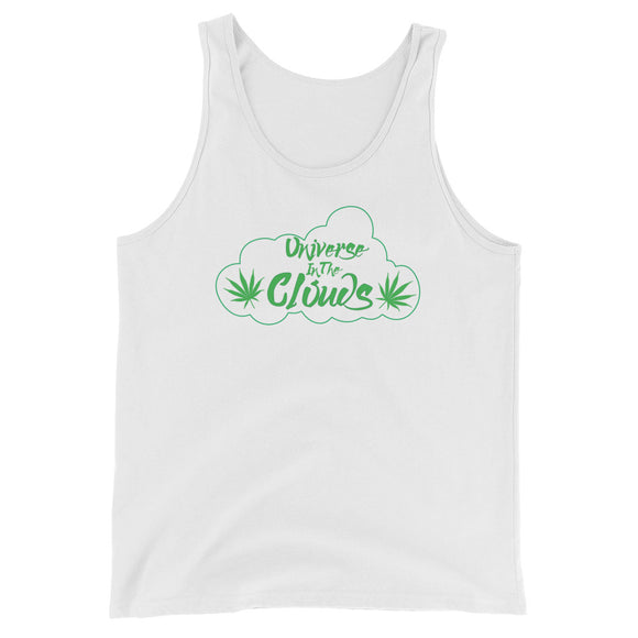 Universe In The Clouds Logo - Unisex Tank Top