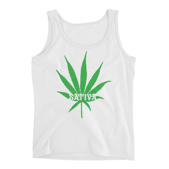 Sativa Leaf - Ladies' Tank