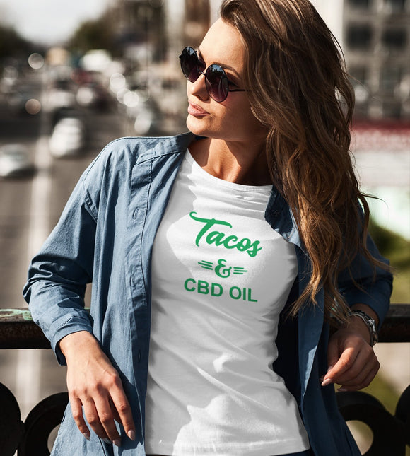 Tacos & CBD Oil t-shirt