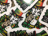 Uncle Sam Rasta Sticker