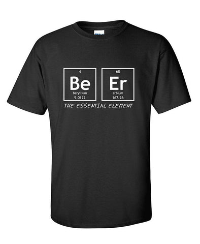 Beer : The Essential Element Beer Lover Shirt Perfect for Parties FREE SHIPPING