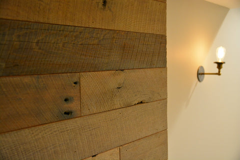 Rustic Wood Wall Covering Pre-Finished