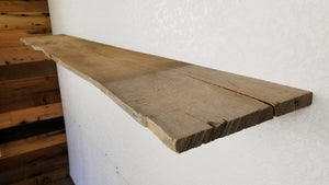 .75x10x79 Live Edge/Straight Edge Ash board
