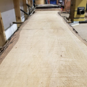 Maple Live Edge Slabs