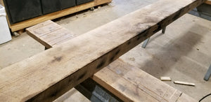 "3""x8""x12' Oak Rafter Barnwood - Reclaimed Lumber and Barn Wood"
