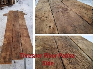 Pine Thresher Floor