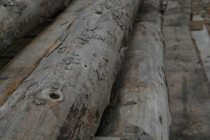 Large Round Reclaimed Barn Posts - Reclaimed Lumber and Barn Wood