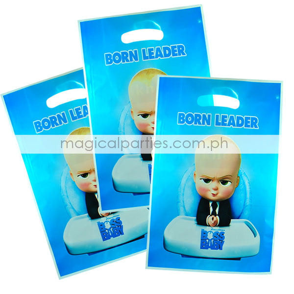 BOSS BABY 6pc Party Gift Bags Set