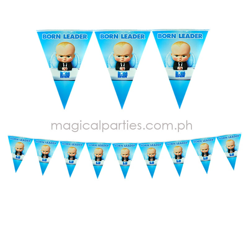 BOSS BABY 1pc Party Banner