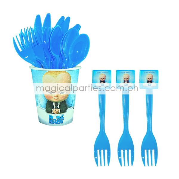 BOSS BABY 6pc Party Fork Set