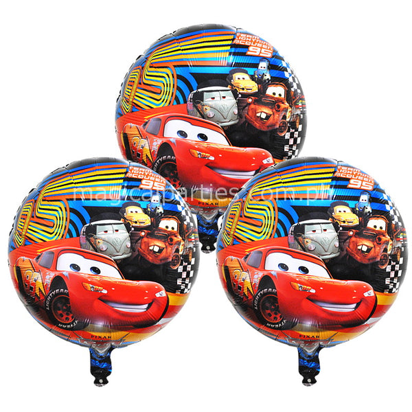 disney cars blue 18 inches foil balloons