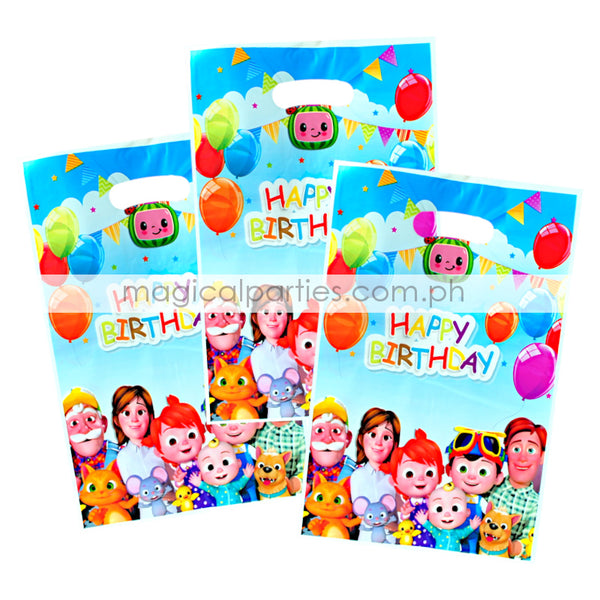 COCOMELON 6pc Party Gift Bags Set