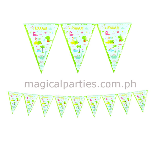 DINOSAUR 1pc Party Banner