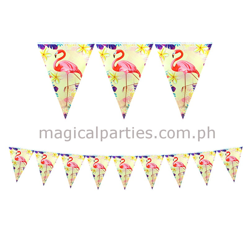 FLAMINGO 1pc Party Banner