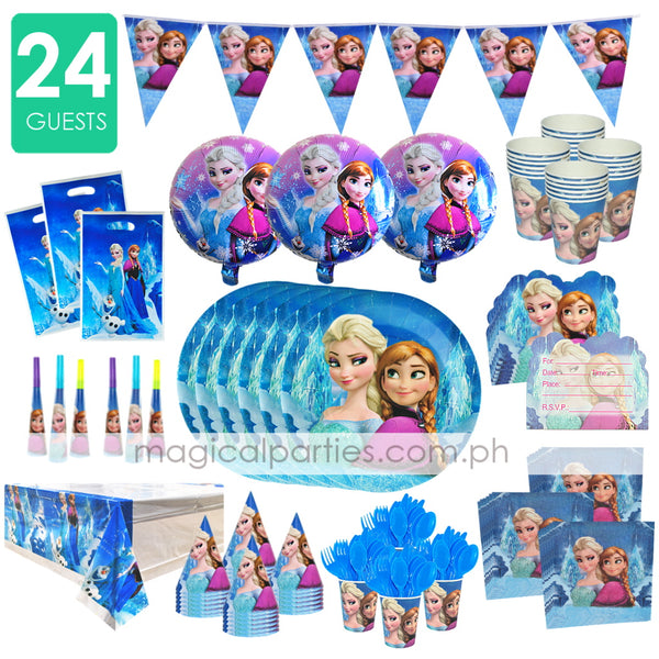 FROZEN Party Premium Set for 24 Guests