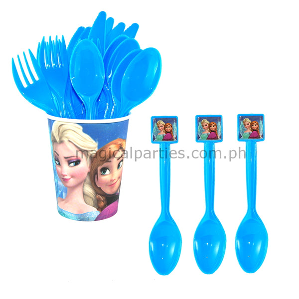 FROZEN 6pc Party Spoon Set