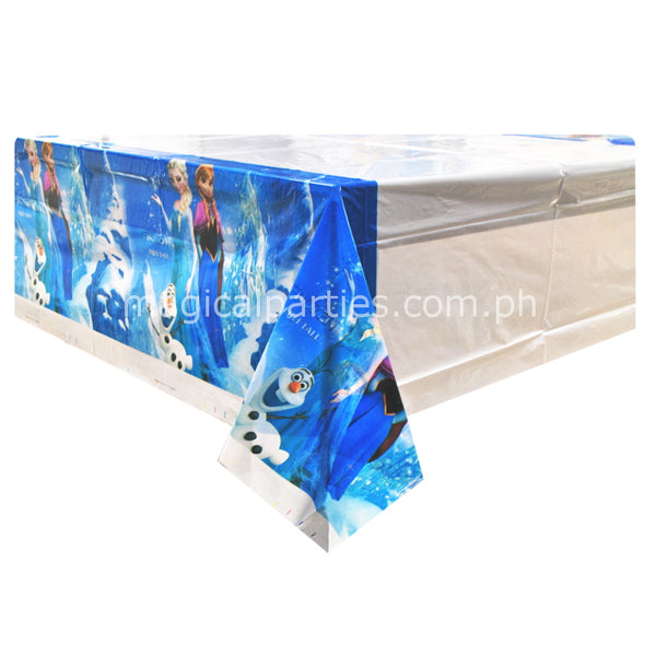 frozen party table cover